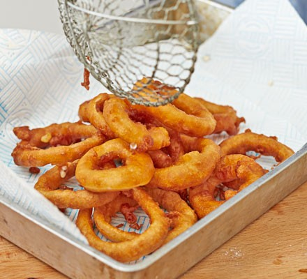 Pickled onion rings