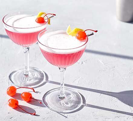 Pink Lady Cocktail Recipe Bbc Good Food