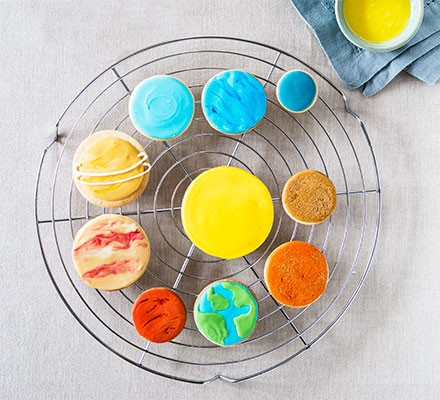 Planet cookies