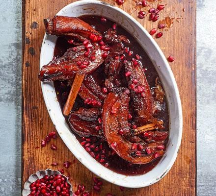 Pomegranate-braised pork belly 2016