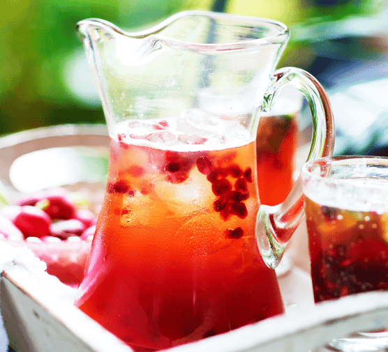 Pomegranate Pimm's