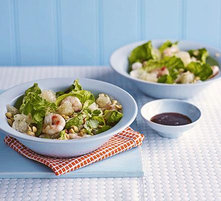 Prawn & pomelo salad