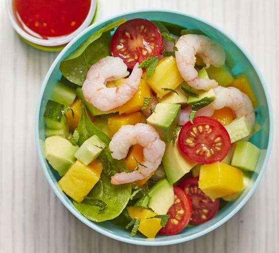 Prawn & mango salad