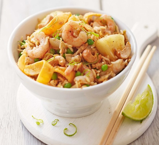 Prawn, pineapple & cashew fried rice