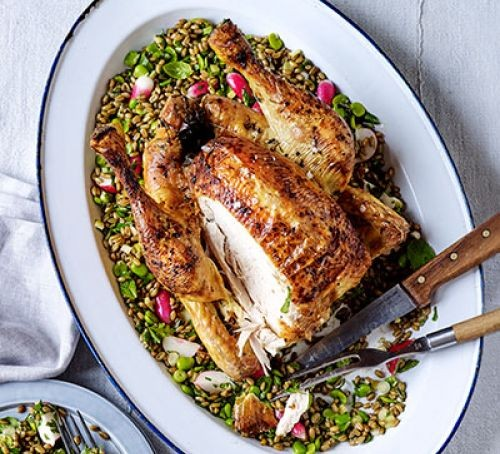 Roast Chicken Recipes Bbc Good Food