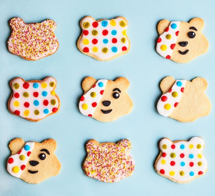 Pudsey biscuit selection