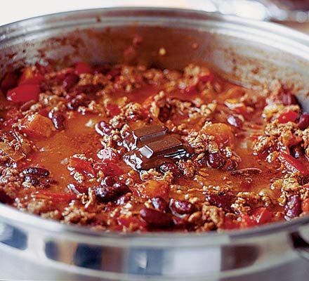 zsírégető chili con carne