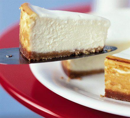 Baked Cheesecake Recipe Bbc Good Food