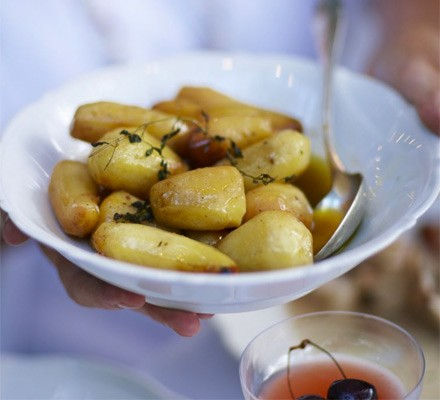 Basic fondant potatoes