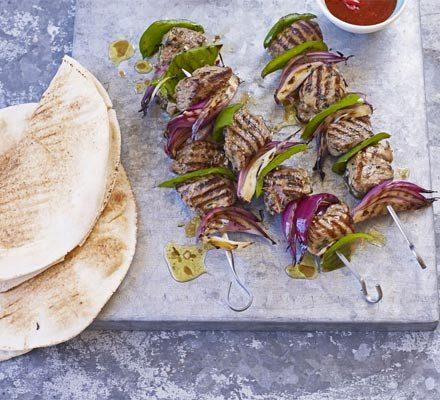 Lamb shashliks with rosemary & garlic image