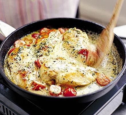 Summer-in-winter chicken