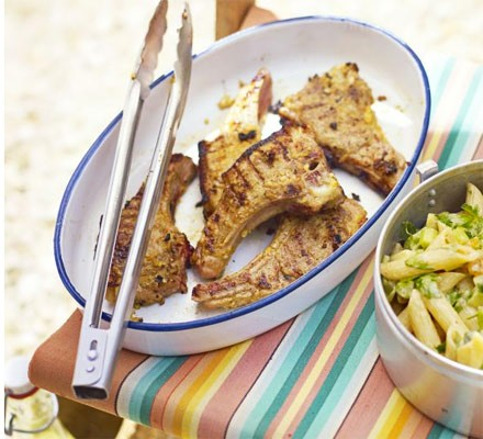 Chilli ginger lamb chops