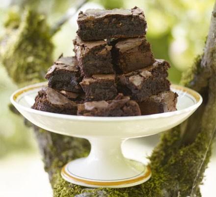 Chocolate Orange Brownies Recipe Bbc Good Food