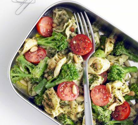 Tortellini With Pesto Broccoli Recipe Bbc Good Food