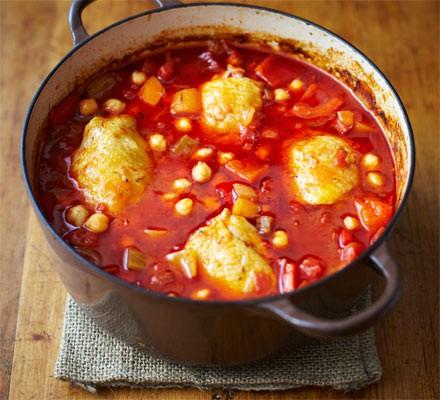 Family meals: Chicken & veg casserole