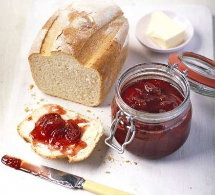 Really fruity strawberry jam