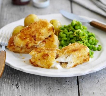 Fish fingers & mushy peas
