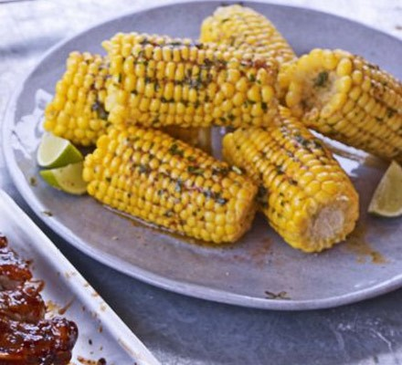 Spicy buttered corn