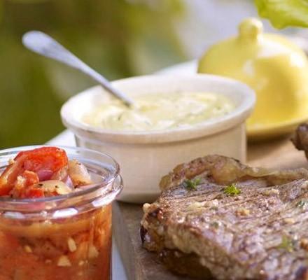 Tarragon & mustard mayonnaise
