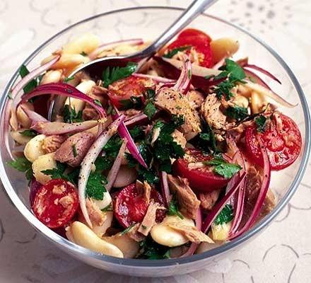 Tuna & butterbean salad