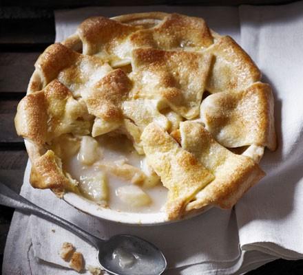 Patchwork orchard pie