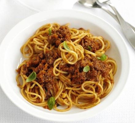 Good-for-you bolognese