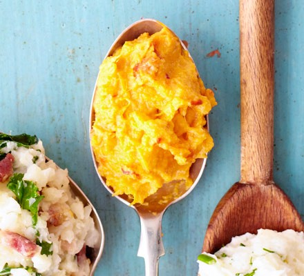 Sweet potato & chipotle mash