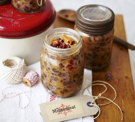 Cranberry jewelled mincemeat