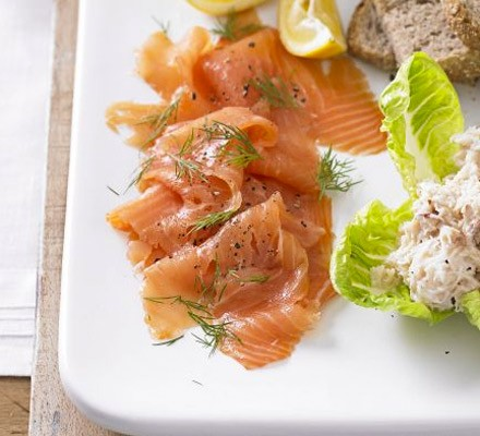 Scandi smoked salmon