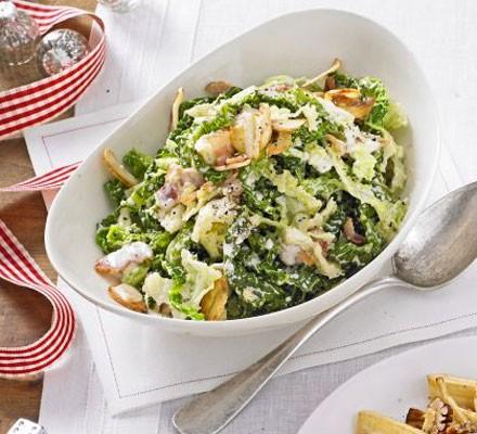 Carbonara cabbage