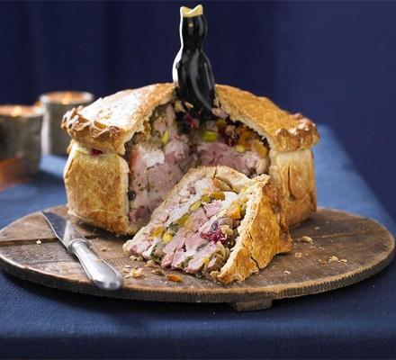 Four & twenty chicken & ham pie