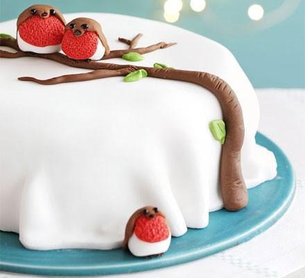 Rocky robin cake