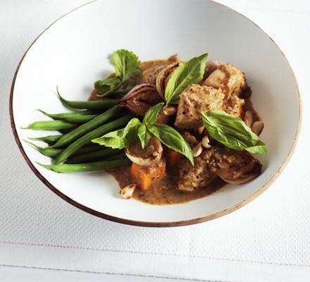 Lighter massaman chicken curry