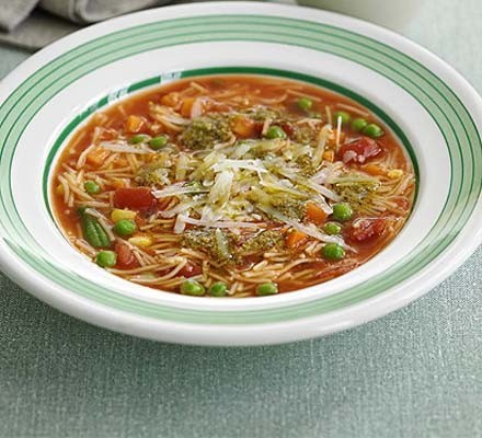 Minestrone in minutes