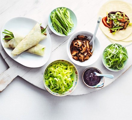 Veggie Chinese pancakes