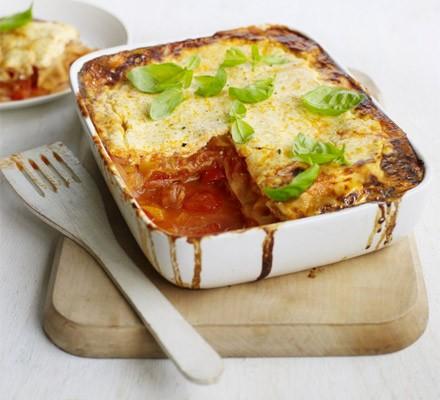 Chorizo & pepper lasagne