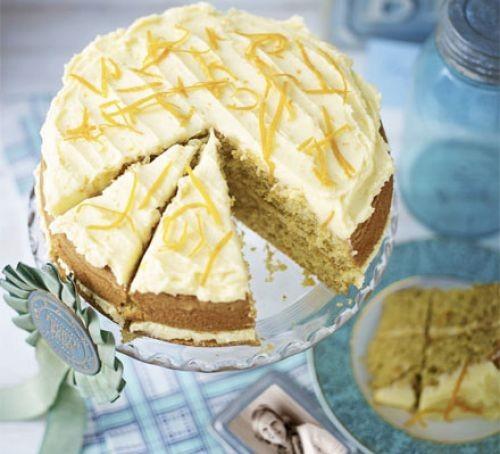 Orange cake recipes image