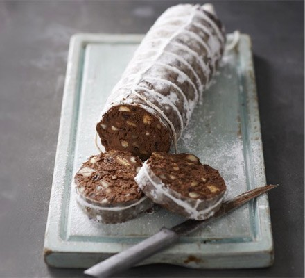 Prosecco chocolate salami