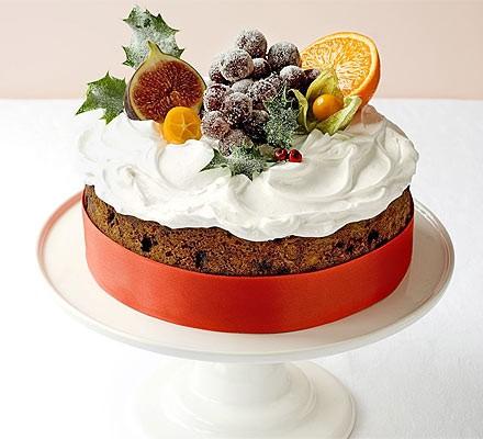 Classic winter fruitcake