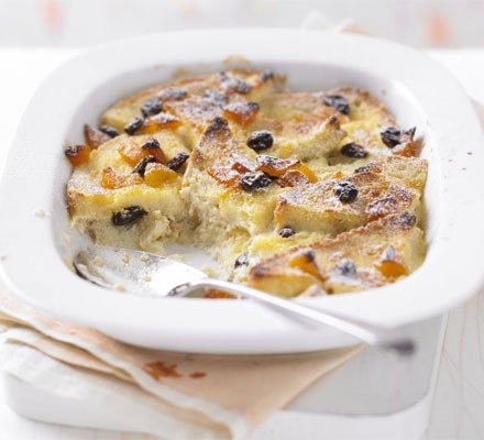 The ultimate makeover: Bread & butter pudding
