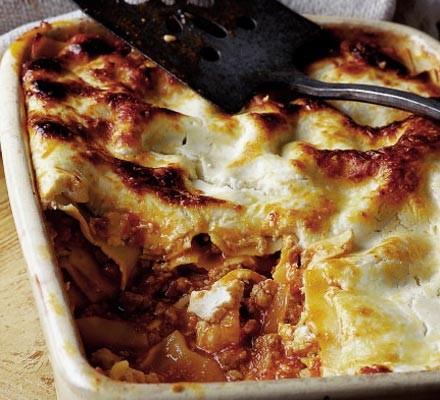 Pork & rosemary lasagne
