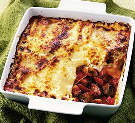 Veggie Lasagne Recipe Bbc Good Food