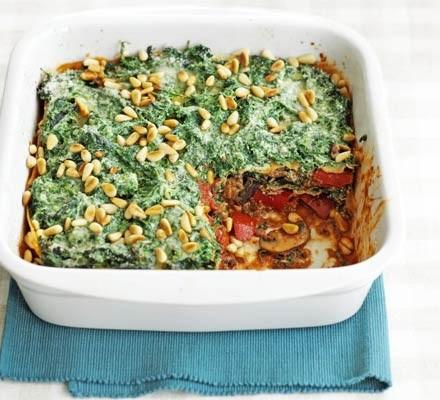 Five-veg lasagne
