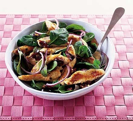Warm lemon & thyme chicken salad