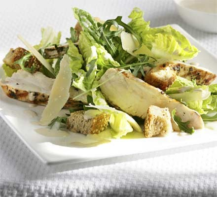The ultimate makeover: Chicken Caesar salad