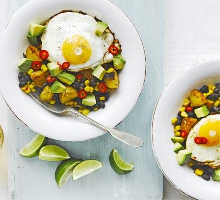 Mexican veggie hash