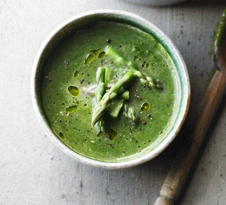 Asparagus soup image