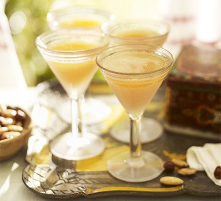 Orange blossom Bellinis