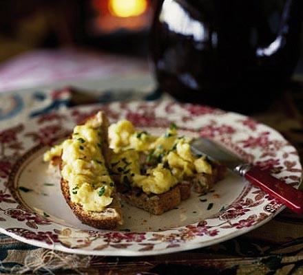 Gentlemen's relish & scrambled eggs