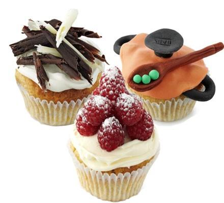 BBC Children in Need cupcakes